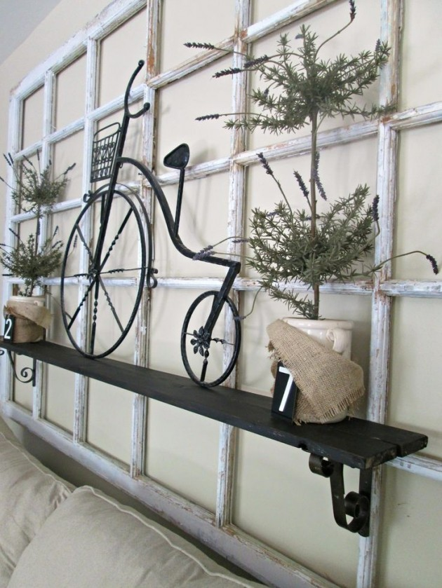 Idée de rebord de fenêtre décoratif DIY