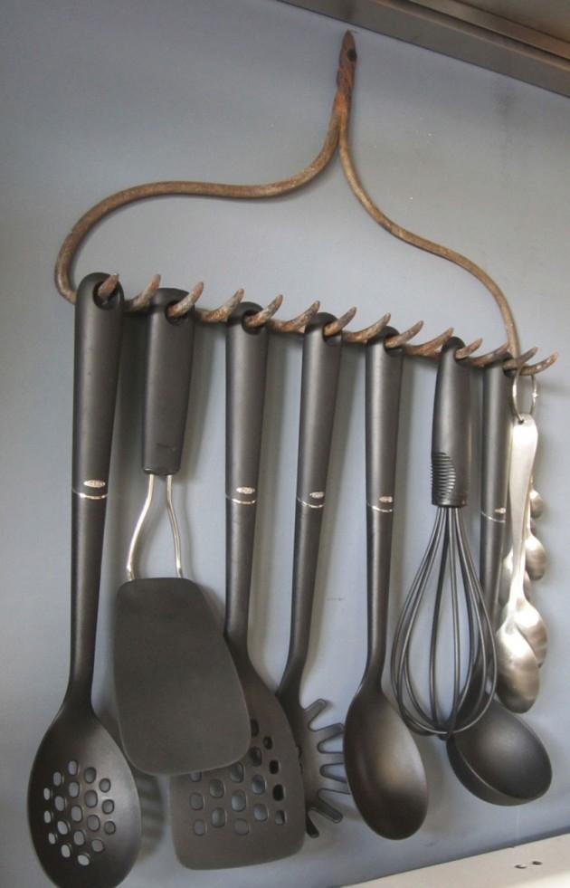 Porte-accessoires de cuisine vintage