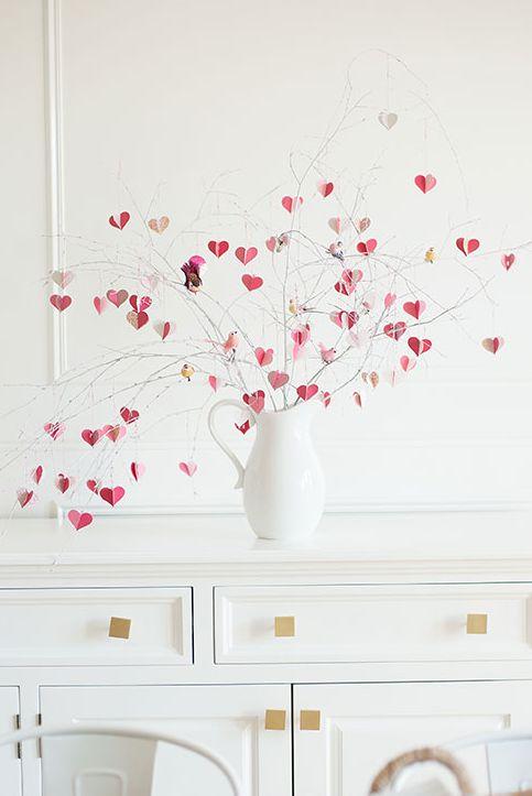 Vase en forme de cœur