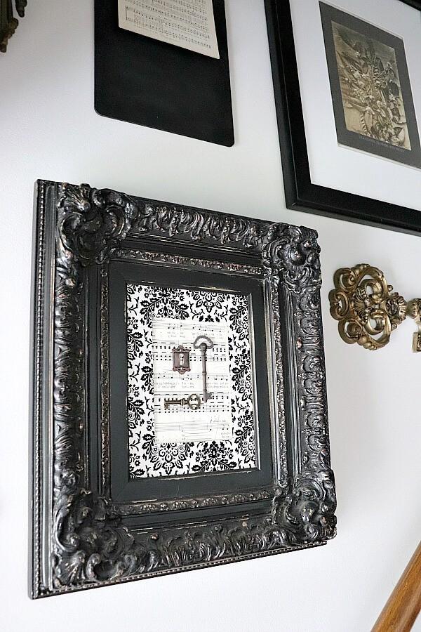 Cadre pour décoration d'escalier