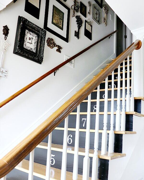 Escalier rédécoré