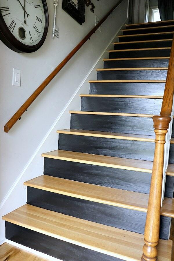 Escalier transformé pour la décoration de votre entrée