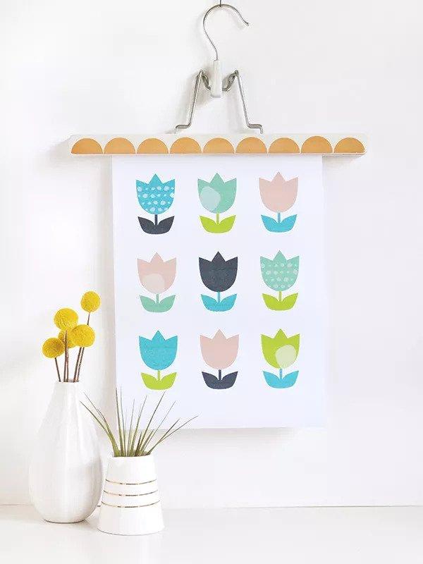Art de la tulipe DIY