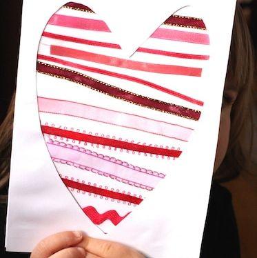 Coeur en ruban