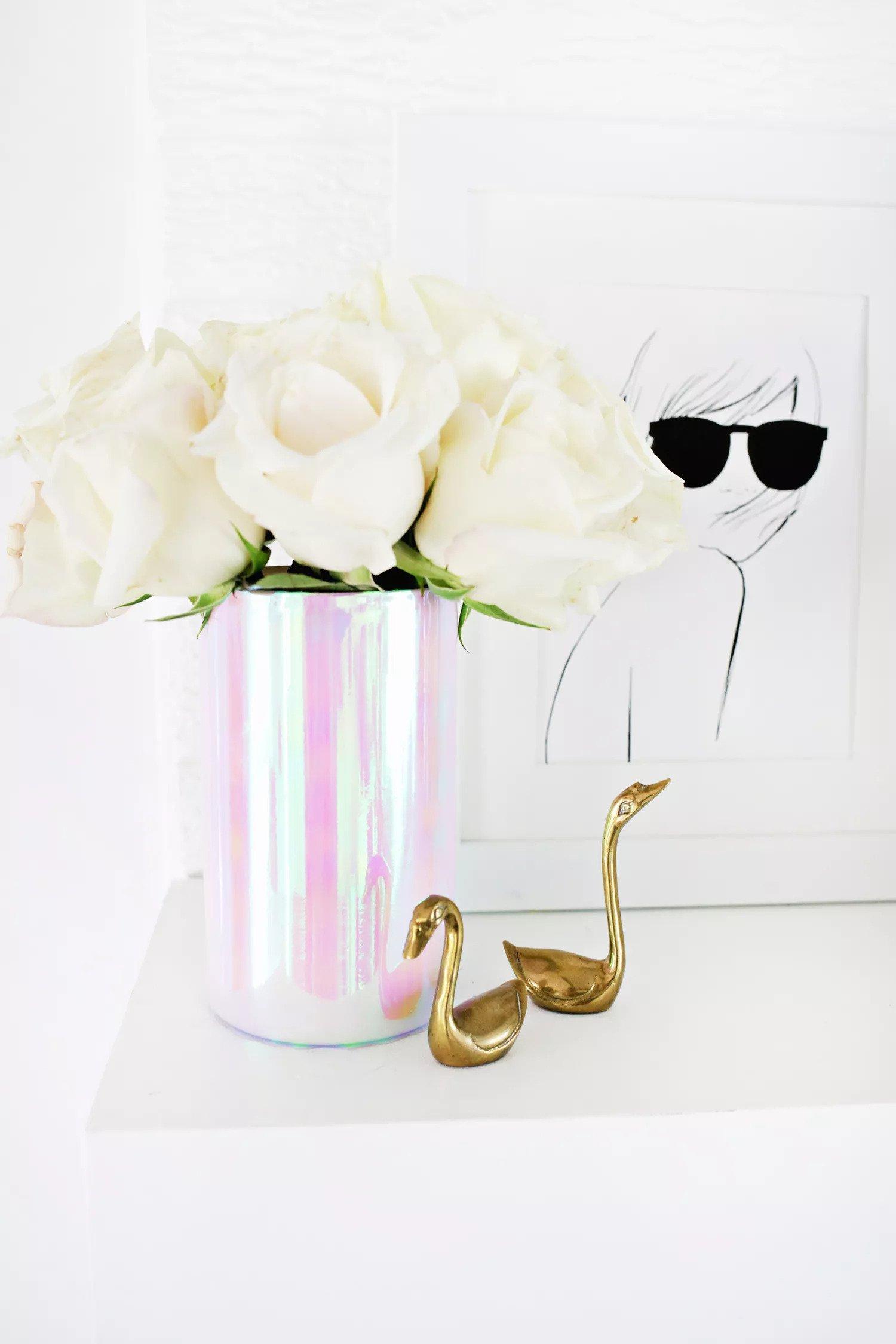 Vase holographique DIY