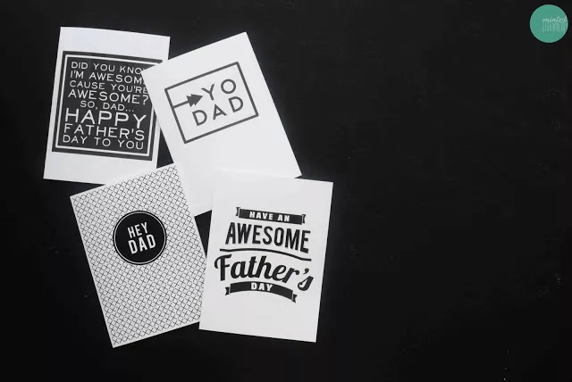 Cartes imprimables pour la fête des pères