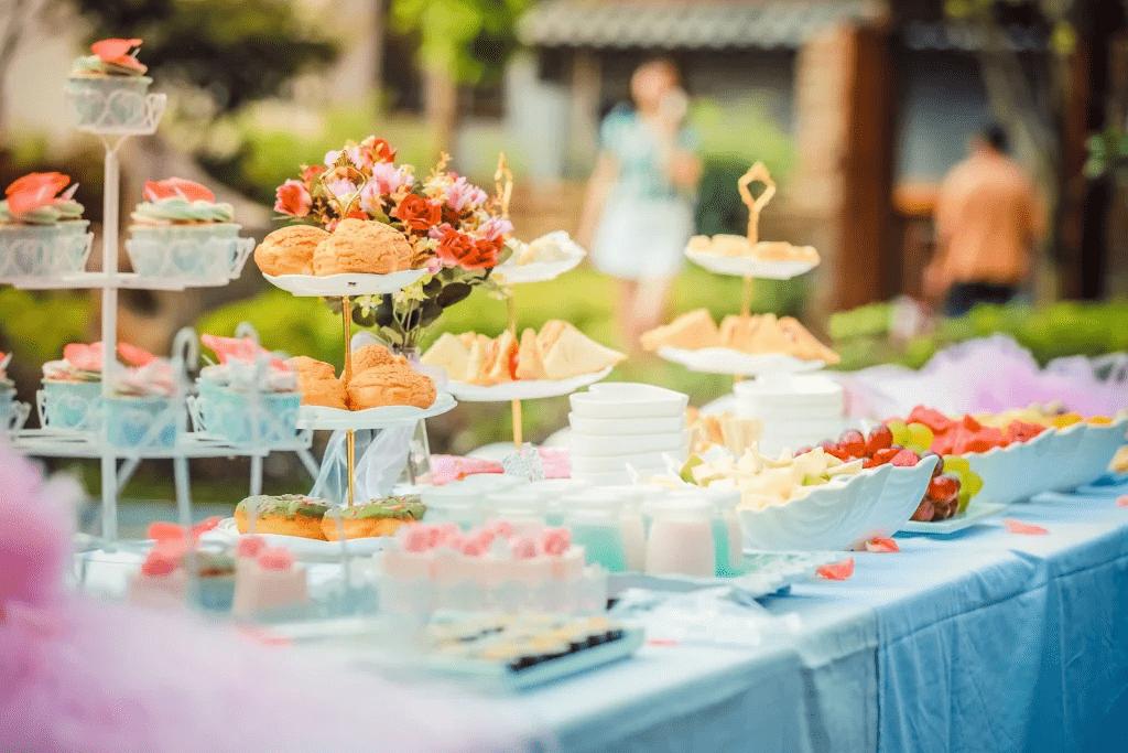 Gâteau pour fête de mariage