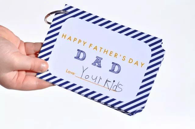 Livre de coupons pour la fête des pères