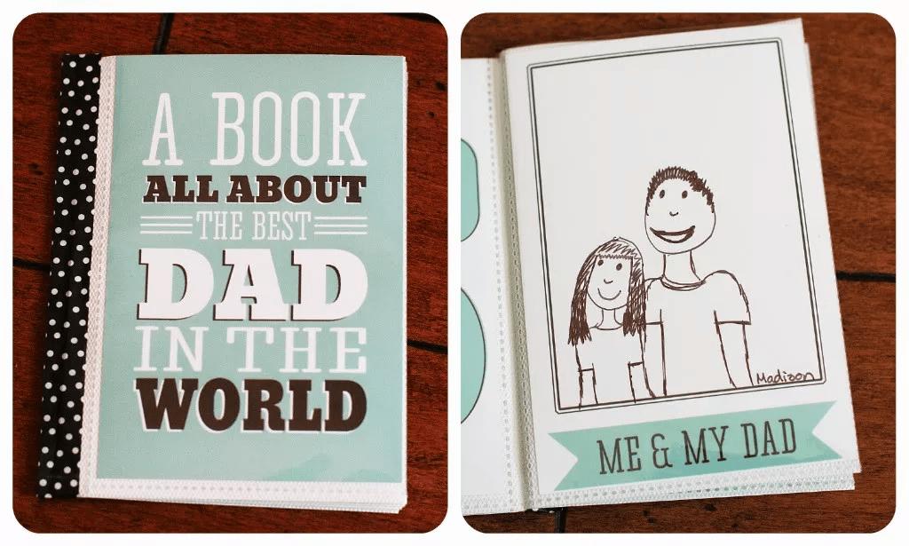 Livre de fête des pères pour papa ou grand-père