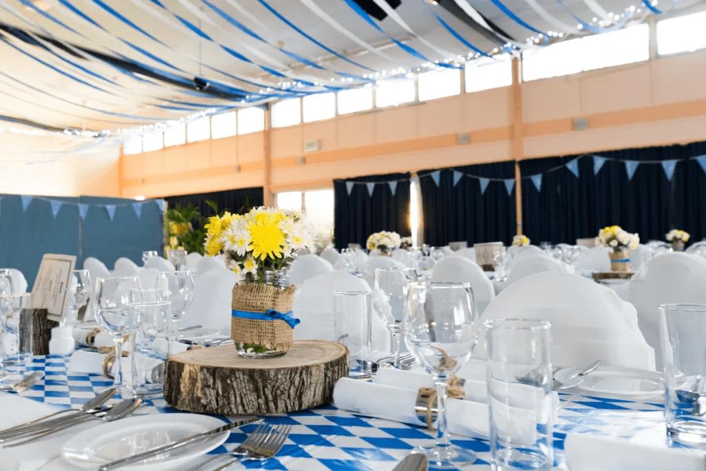 Table pour fête de mariage