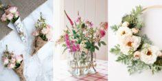 25 jolies fleurs artisanales pour le printemps