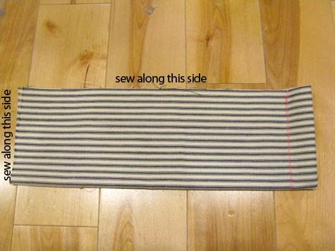 Plier le tissu