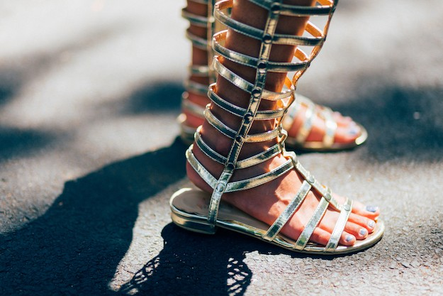 Sandales gladiateurs Tie-Up Festival