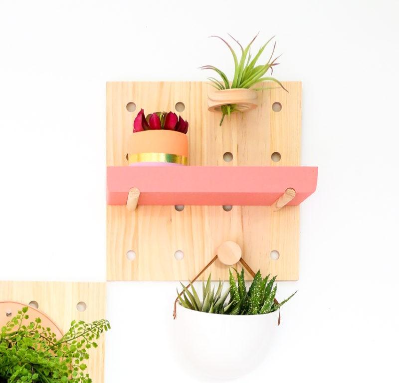 DIY - Mur végétal vivant en carton perforé