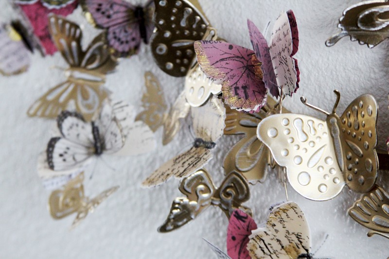 Couronne de papillons